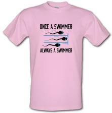 Once A Swimmer, Always A Swimmer t shirt