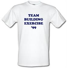 Team Building Exercise '99 t shirt