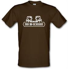 The D Is Silent t shirt