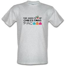 The Ghosts Of Christmas Pacman t shirt