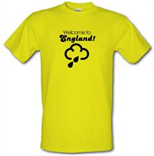 Welcome To England! t shirt