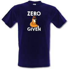 Zero Fox Given t shirt