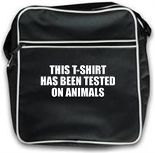 This t-shirt has been tested on Animals t shirt