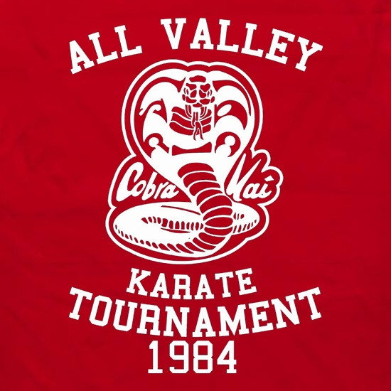 All Valley Karate Tournament t shirt