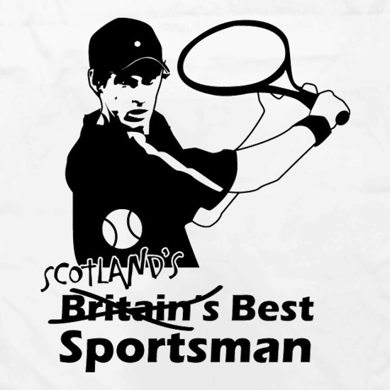 Andy Murray - Scotland's Best Sportsman t shirt