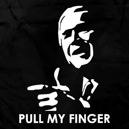 George Bush, Pull my finger t shirt