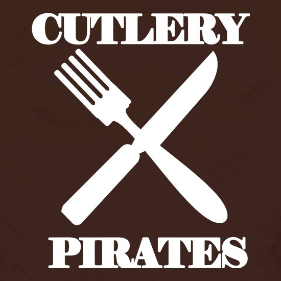Cutlery Pirates t shirt