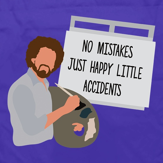 No mistakes, Just Happy Litte Accidents t shirt
