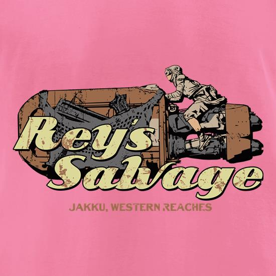 Reys Salvage T Shirt By CharGrilled
