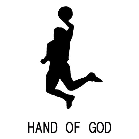 Hand of God t shirt