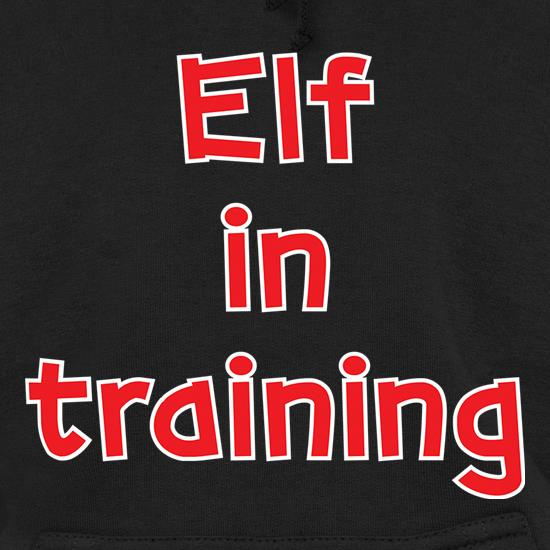 Elf In Training t shirt