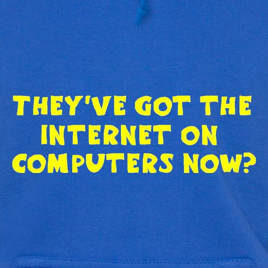 They've got the internet on computers now? t shirt