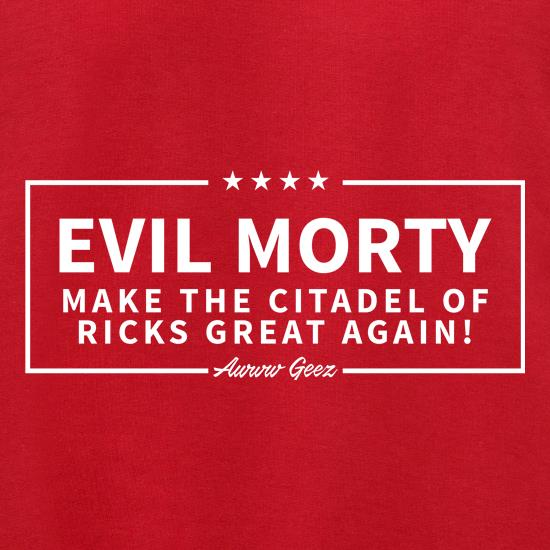 Evil Morty t shirt
