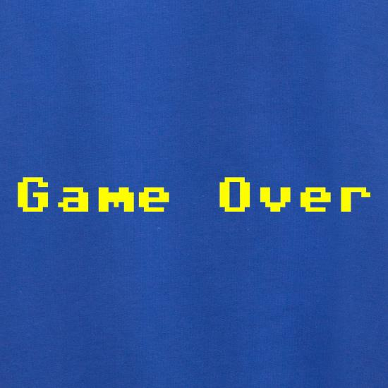 Game Over Player t shirt
