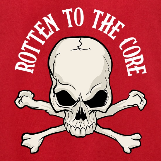 Rotten To The Core t shirt