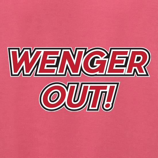 Wenger Out ! t shirt