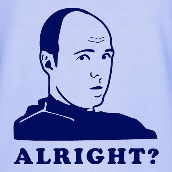 Karl Pilkington - Alright? t shirt