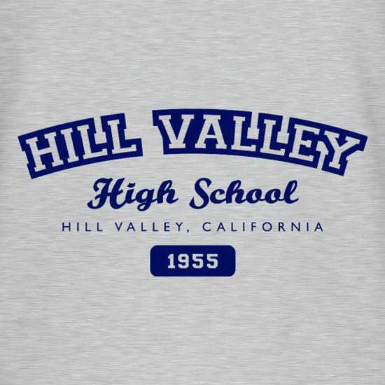 Hill Valley High School t shirt