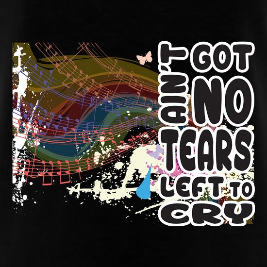No Tears Left t shirt