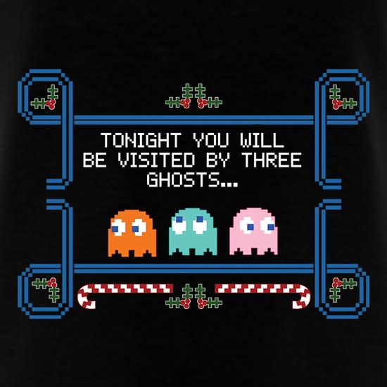 Tonight You'll Be Visited By Three Ghosts t shirt