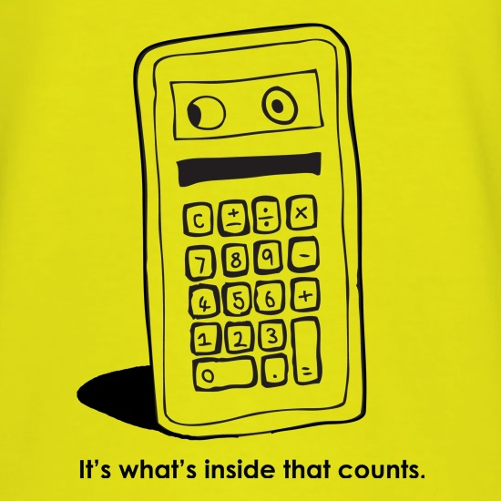 It's What's Inside That Counts t shirt