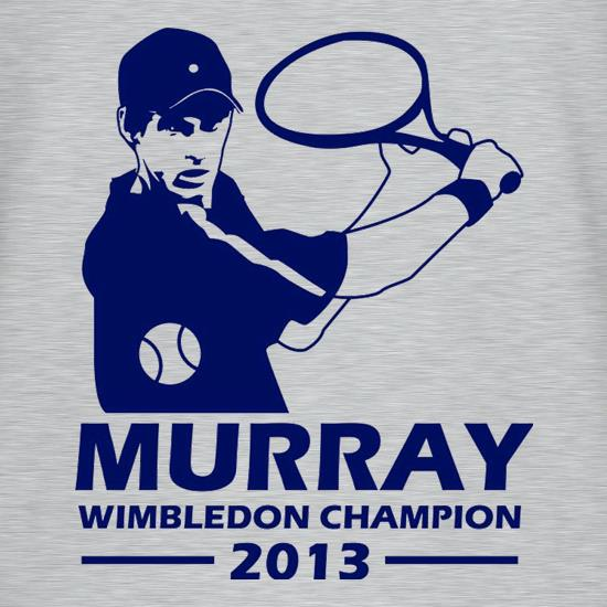 Andy Murray Wimbledon Champion t shirt