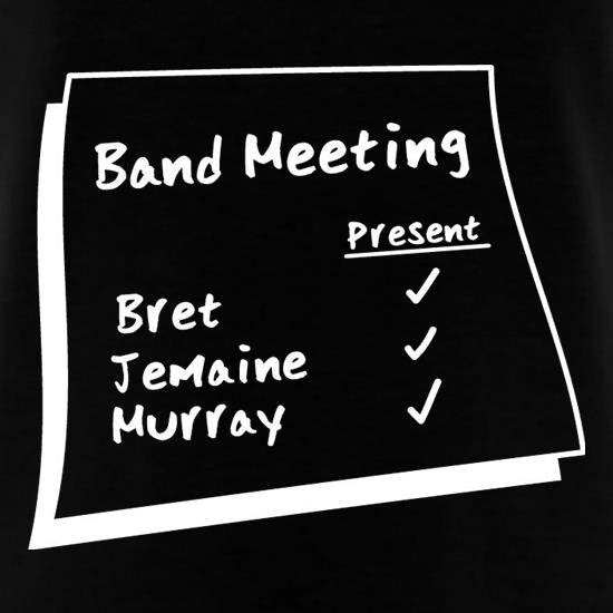 Band Meeting t shirt