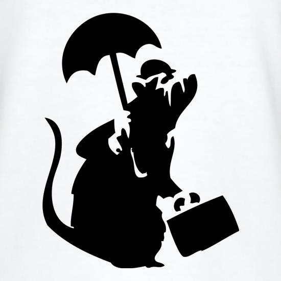 Banksy - Executive Rat t shirt