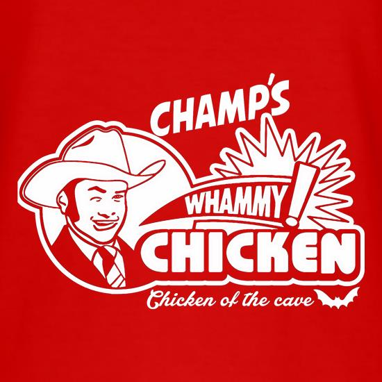 Champ's Whammy Chicken t shirt