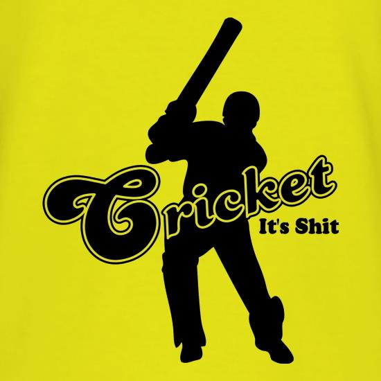 Cricket It's Shit t shirt