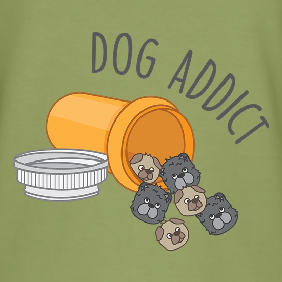 Dog Addict t shirt