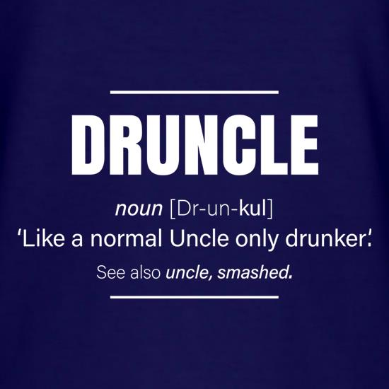 Druncle t shirt