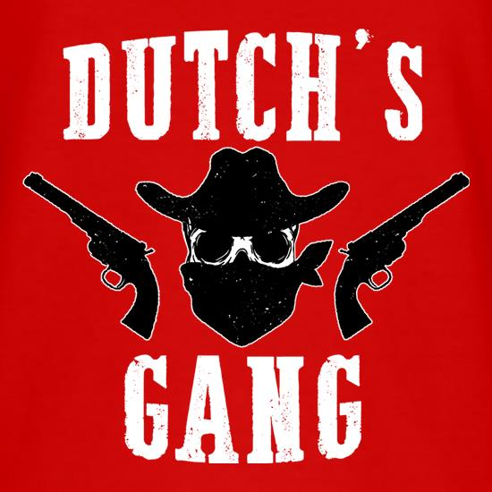 Dutch's Gang t shirt