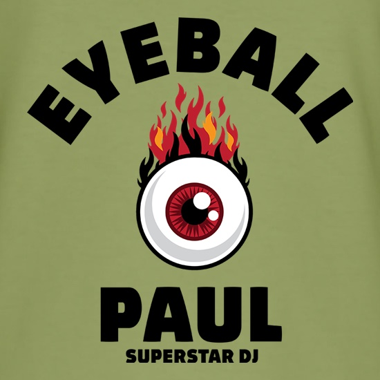 Eyeball Paul t shirt