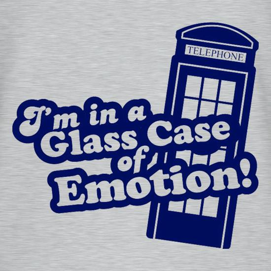 I'm In A Glass Case Of Emotion! t shirt