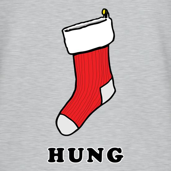 Hung Stocking t shirt
