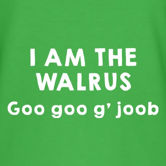 I Am The Walrus t shirt