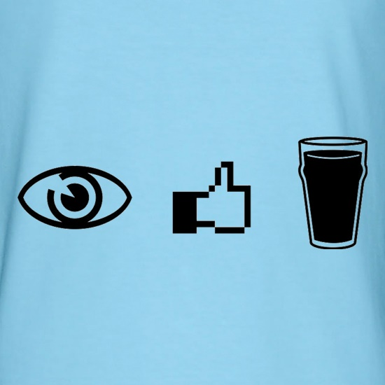 I Like Beer t shirt
