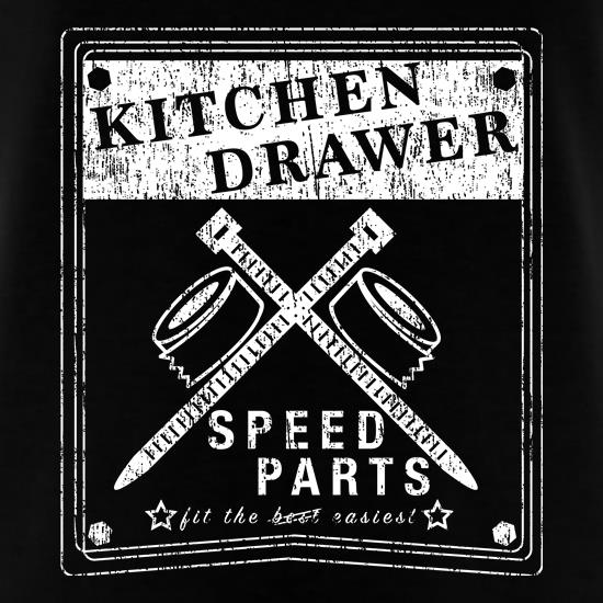 Kitchen Drawer Speed Parts t shirt