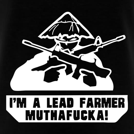 Lead Farmer t shirt