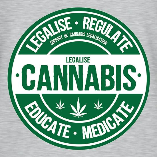 Legalise Cannabis t shirt