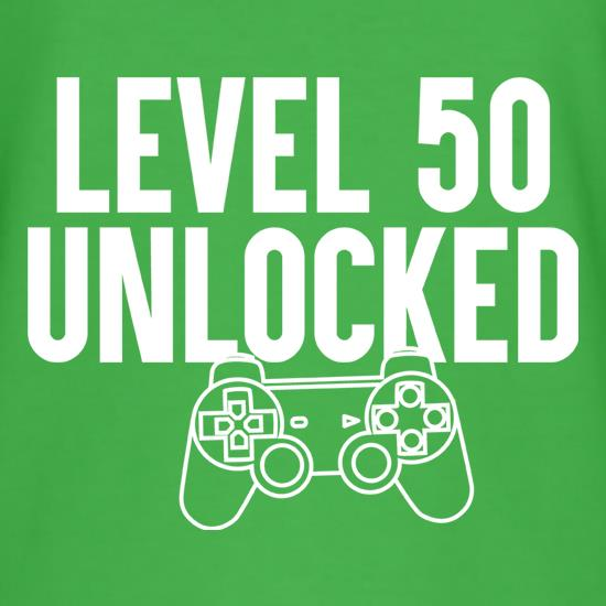 Level Fifty Unlocked t shirt