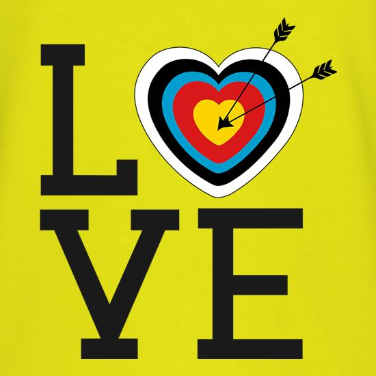 Love Archery t shirt