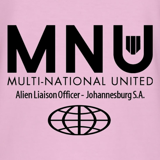 MNU - Alien Liaison Officer - District 9 t shirt
