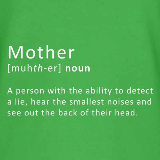 Mother Definition t shirt