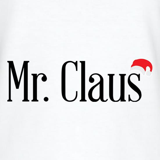 Mr Claus t shirt