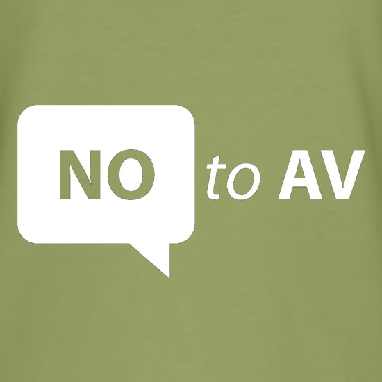 No To AV t shirt