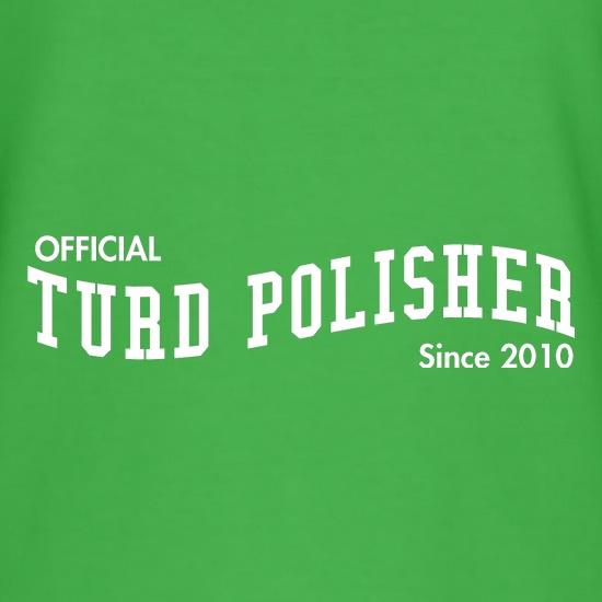 Official Turd Polisher t shirt