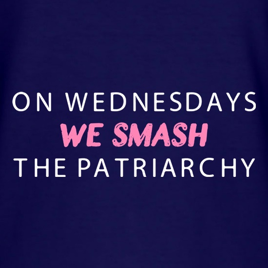 On Wednesdays We Smash The Patriarchy t shirt