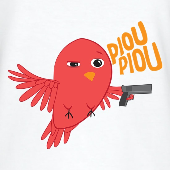 Piou Piou Bird t shirt